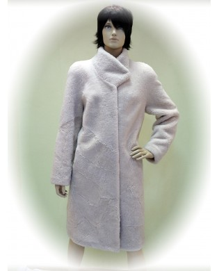 Пальто женское, Модель:01-19, Мех: овчина
