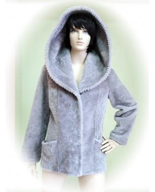 Пальто женское, Модель:38-16, Мех: овчина